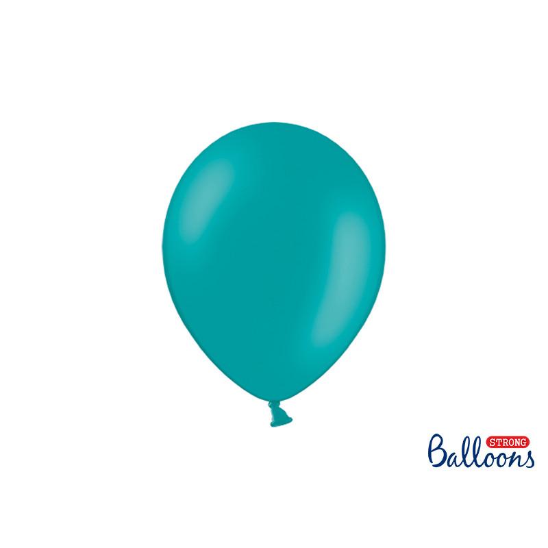x10 Ballon de Baudruche Bleu Lagon