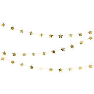 Guirlande étoile or 3.6 m