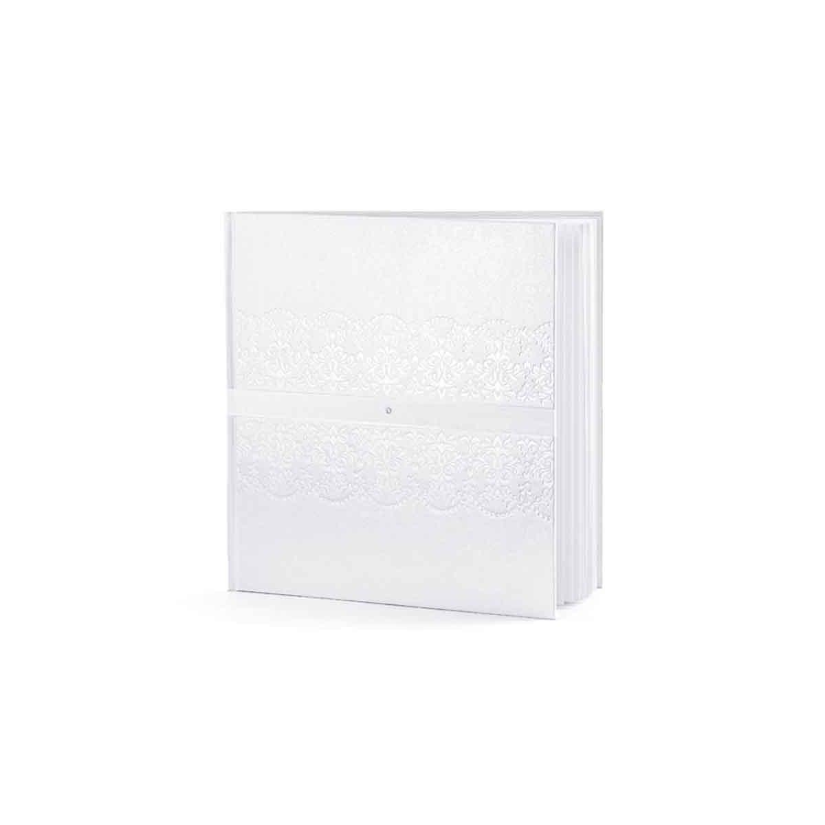 Livre d'Or Blanc avec diamant