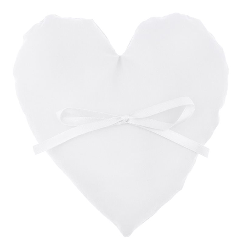 Coussin Alliance Coeur Blanc