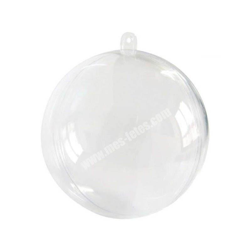 Boule plexiglass transparente mariage anniversaire deco 8cm diametre