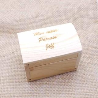 x1 Malle au trésor en bois personnalisée