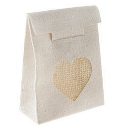 Sachet Dragees Coeur Naturel x 4