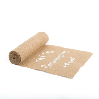 Chemin de Table communion Jute