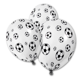 5x Ballon de baudruche football