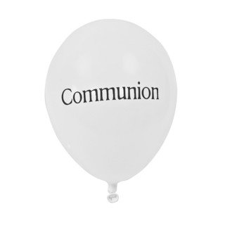 8x Ballon de baudruche communion