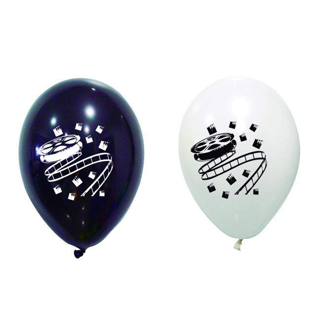 8x Ballon de baudruche cinéma