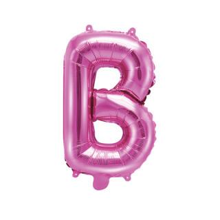 Ballon Lettre B Rose Foncé