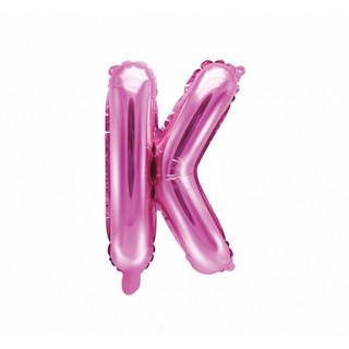 Ballon Lettre K Rose Foncé