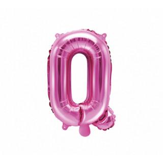 Ballon Lettre Q Rose Foncé