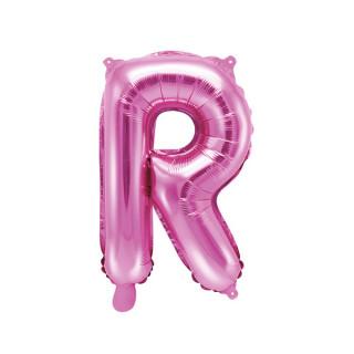 Ballon Lettre R Rose Foncé