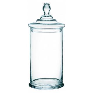 Bonbonnière en verre droite 35 x 15 cm