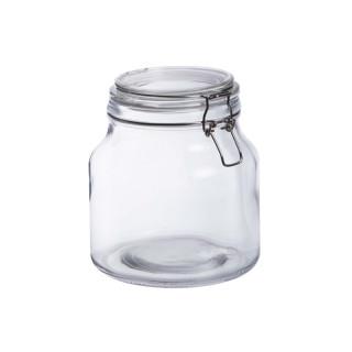 Bonbonnière en verre fermeture metal 2L