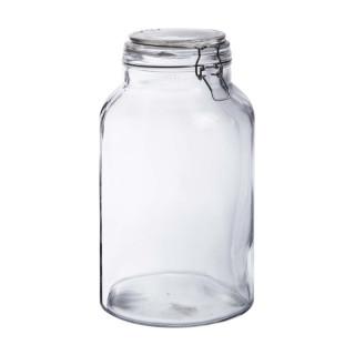 Bonbonnière en verre fermeture metal 5L