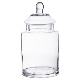 Bonbonnière verre droite 25 x 13 cm