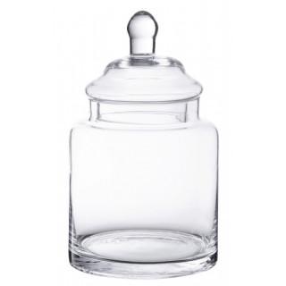 Bonbonnière verre droite 22 x 13 cm