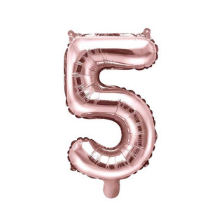 ballon-chiffre-5-rose-gold