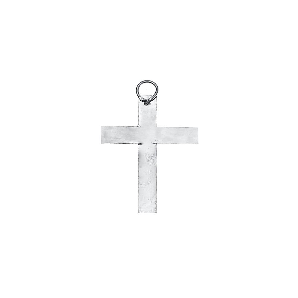 Pendentif Croix argent x 6