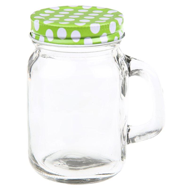 Pot en verre Dragées Pois
