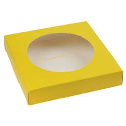 25 Supports Boule Dragées 8 cm - Jaune