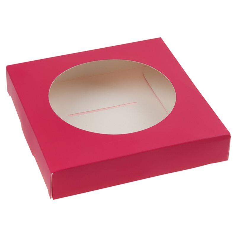 25 Supports Boule Dragées 8 cm - Fuchsia
