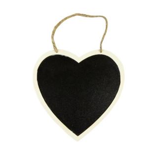 Coeur ardoise à suspendre
