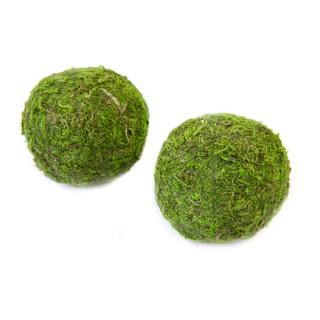 x4 Boules décoratives mousse
