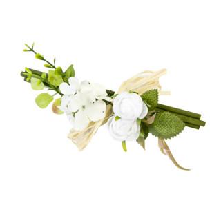 Décoration bois et fleurs