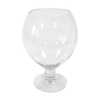 Vase verre ballon 25cm