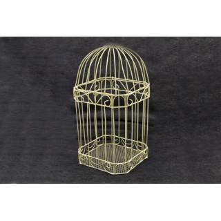 Cage carte de voeux ivoire