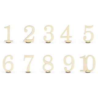 marque tables en bois numéros