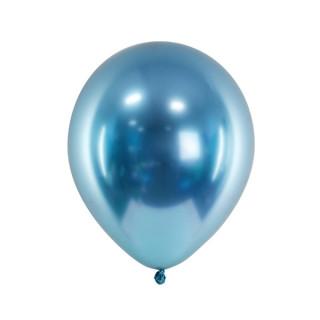 ballon bleu glossy