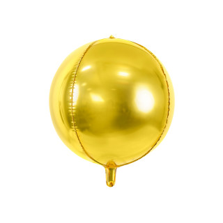 Ballon Mylar jaune gold