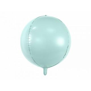 Ballon Mylar bleu vert menthe