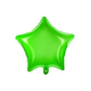 Ballon Mylar Etoile vert