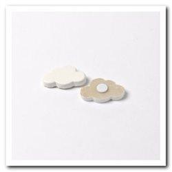 Nuage Adhesif Blanc x 6