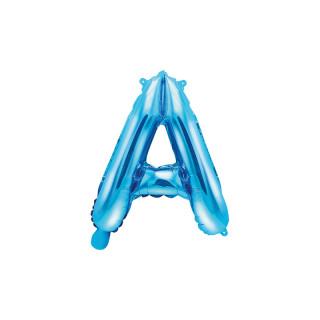 Ballon Lettre A bleu
