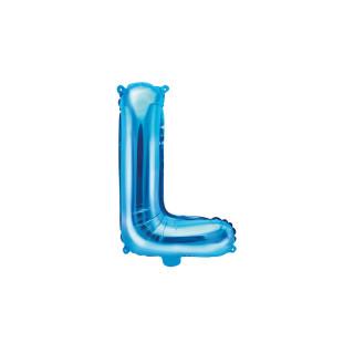 Ballon Lettre L bleu