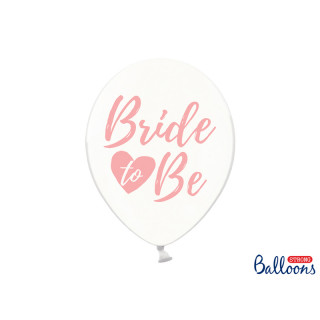 Ballon de baudruche EVJF Bride To Be rose