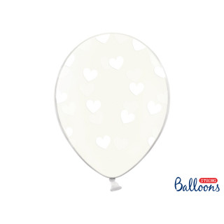 Ballon de baudruche coeur Heart Blanc