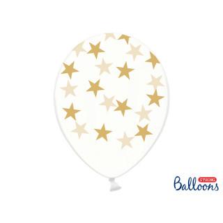 Ballon de baudruche étoile Or