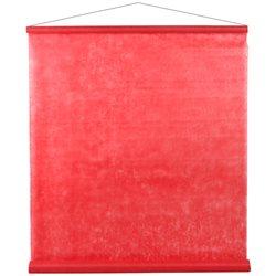 Tenture de salle Rouge