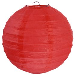 Lanterne XL Rouge x 1
