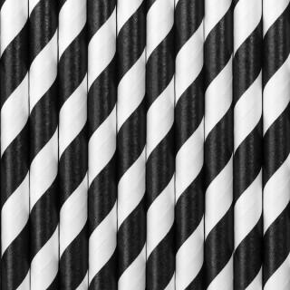 Paille blanche et noire