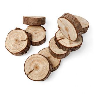 x10 Rondin de bois 5 cm