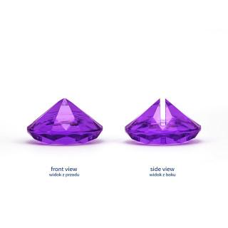 Marque place diamant violet