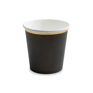 Gobelet Carton Noir Liseré Or