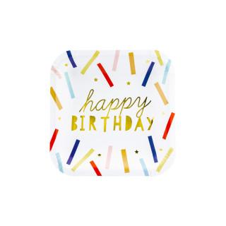 Assiette anniversaire