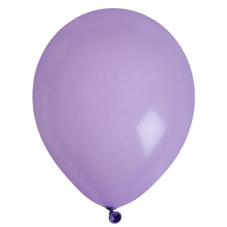 Ballon de Baudruche uni Violet x 8