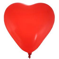 Ballon de Baudruche cœoeur Rouge x 8